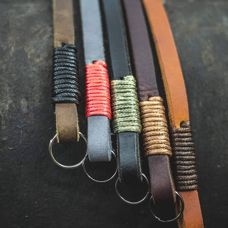 Real and PU Leather Camera Straps