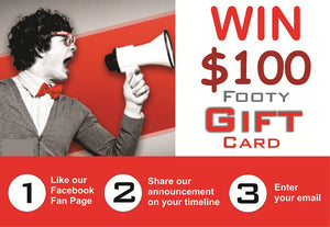Win $100 Footy Gift Card