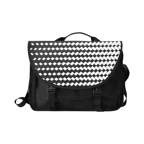 Black & White Laptop Bag (Model1617)