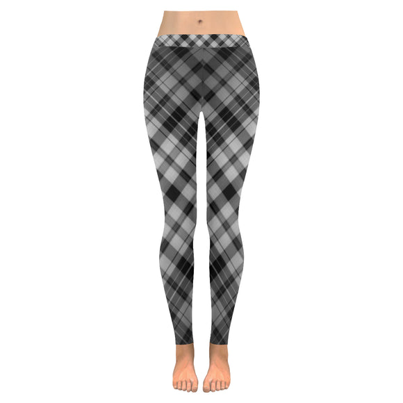 Check Range All-Over Low Rise Leggings (Model L05)