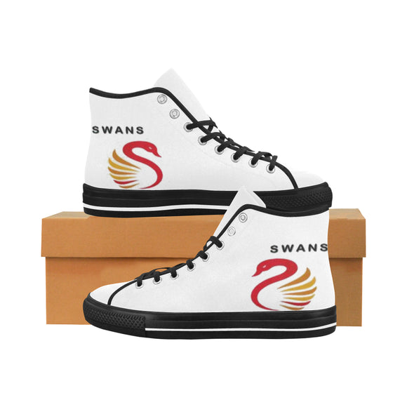 Sydney Swans Men's High Top Shoes (Model1013-1)