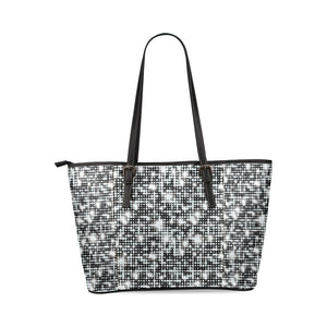 Shine Fashion Leather Tote Bag ( Model1640) (D394123)