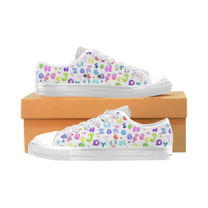 Abstract Aquila Canvas Kid's Shoes (Model018)