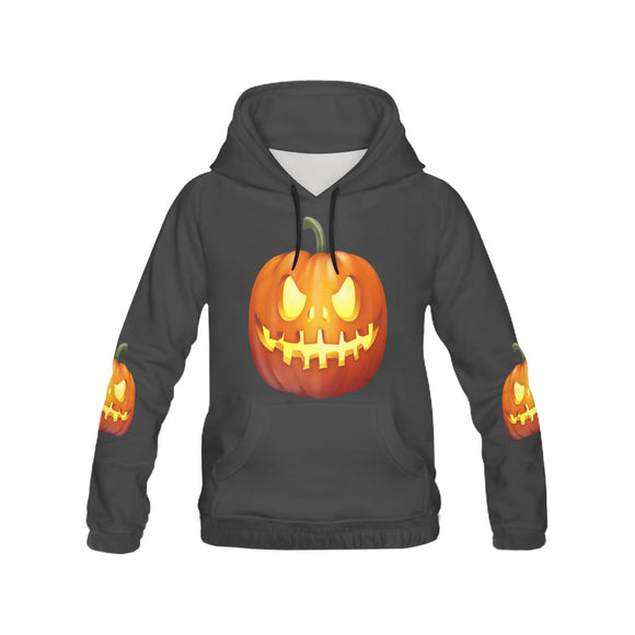 Men's Monster Pumpkin All Over Print Hoodie (USA Size) (Model H13)