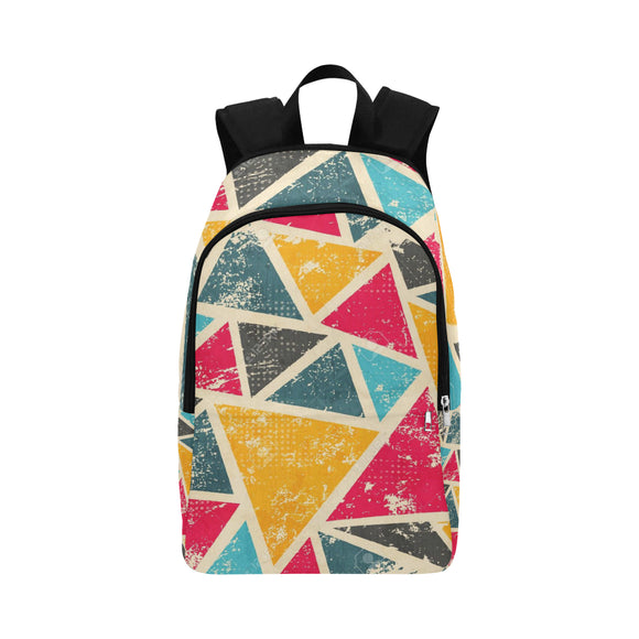 Grunge Colored Adult Casual Backpack (Model 1659)
