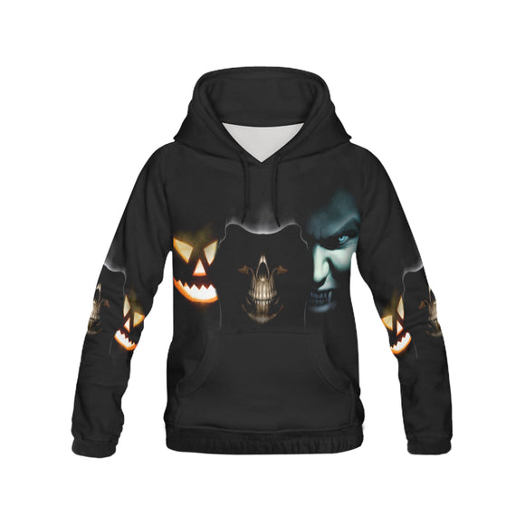 hallowen 1 Men's All Over Print Hoodie (USA Size) (Model H13)