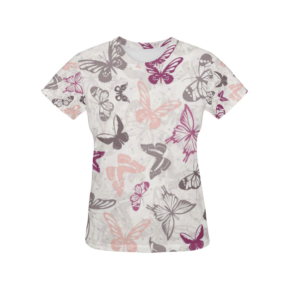 Tropical Women's All Over Print T-shirt (USA Size) (Model T40)