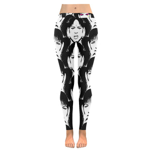Fashion Girl All-Over Low Rise Leggings (Model L05)