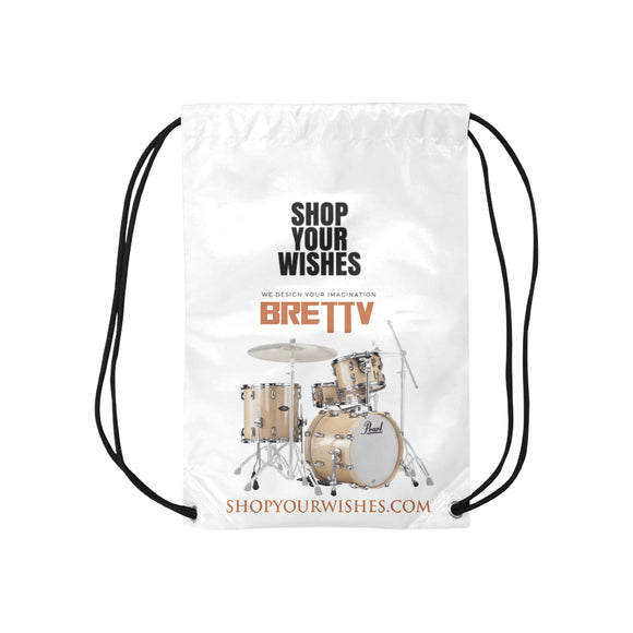 Drum Drawstring Bags  (Model 1604) (Small)