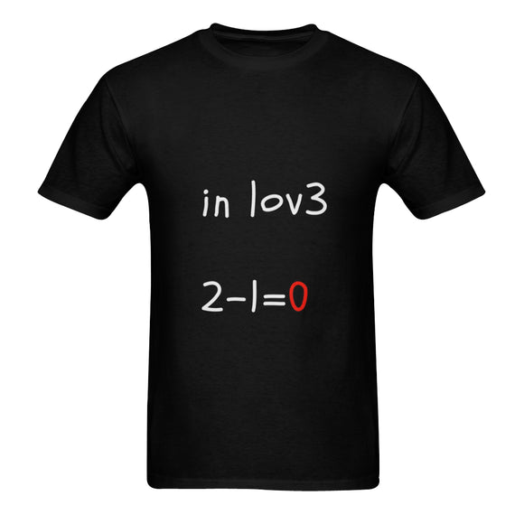 Love Math Classic Men's T-shirt (Model T06)