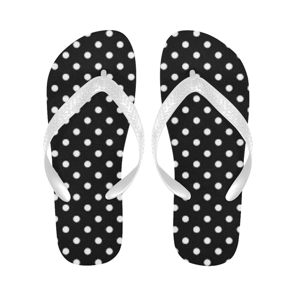 Polka dots Flip Flops (For both Men and Women) (Model040)