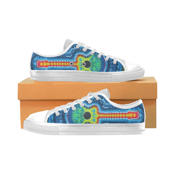 Tie & Die Aquila Canvas Kid's Shoes (Model018)