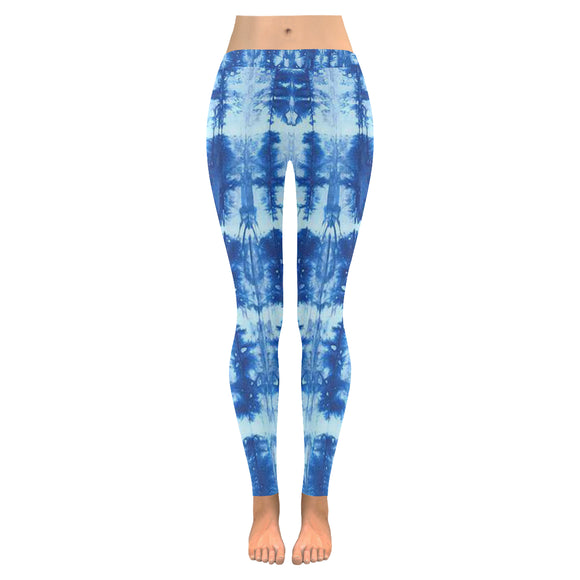 Tie & Die All-Over Low Rise Leggings (Model L05)
