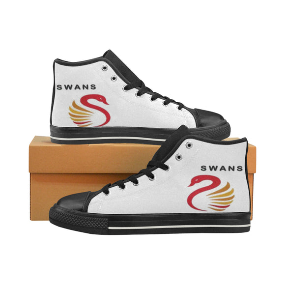Sydney Swans Men's High Top Shoes (Model017)