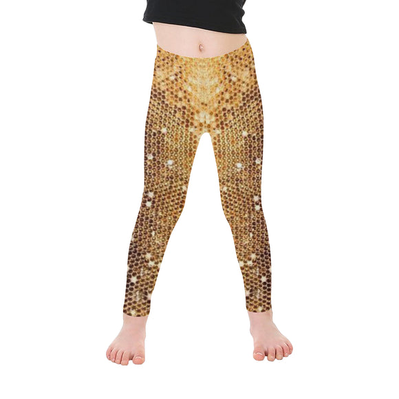 Abstract All-Over Kid's Leggings (Model L06)