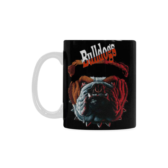Bulldogs Mug Classical White Mug(11 OZ)