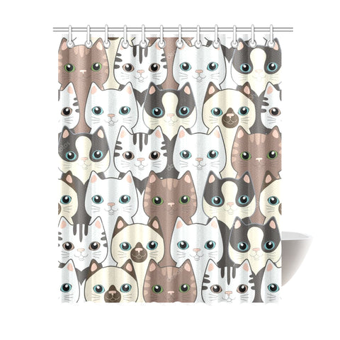 "Home Shower Curtain 69""x84"""