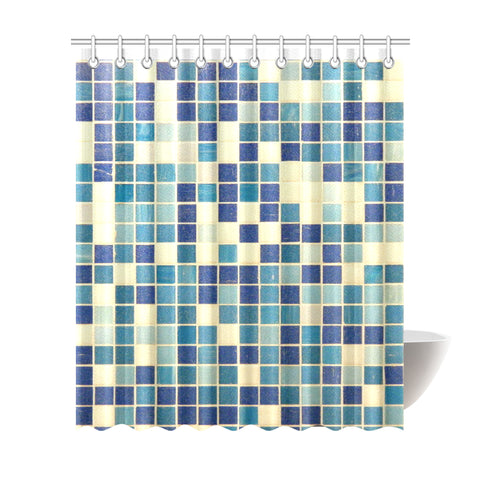 "Home Abstract Shower Curtain 72""x84"""