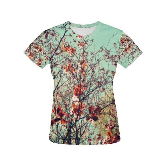 Floral Women's All Over Print T-shirt