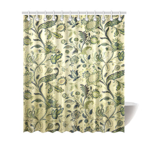 "Home Vintage Shower Curtain 72""x84"""