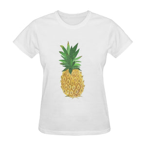 Pineapple Tshirt Classic Women's T-shirt (Model T05)