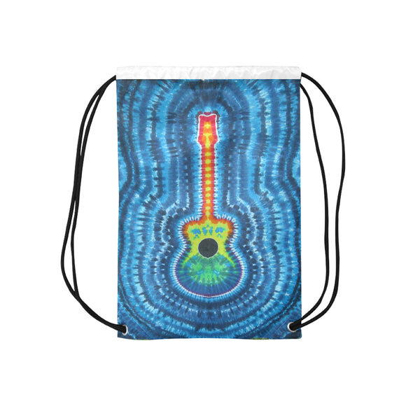 Tie & Die Drawstring Bags  (Model 1604) (Small)