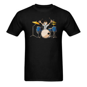 Drummer Classic Men's T-shirt (Model T06)