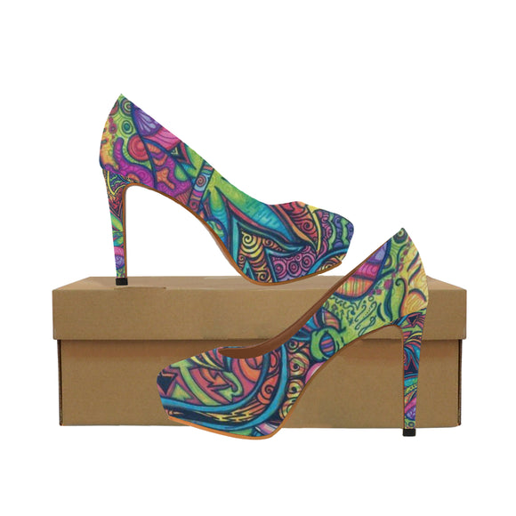 Tie & Die Women's High Heels (Model 044)