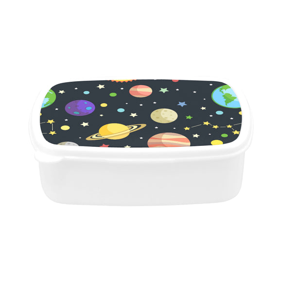 BrettV Nature Space Universe Planet Star Children's Lunch Box