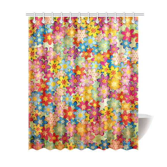 Home Vintage Shower Curtain 69
