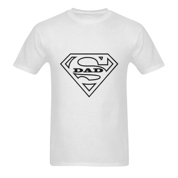Super Dad Classic Men's T-shirt (Model T06)