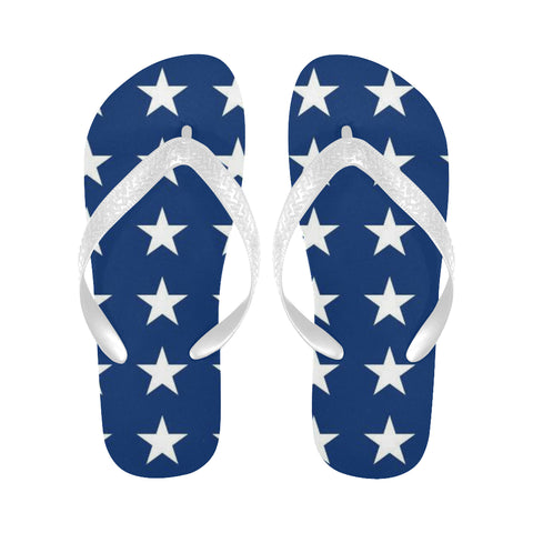 Naval Jack stars Flip Flops (For both Men and Women) (Model040)