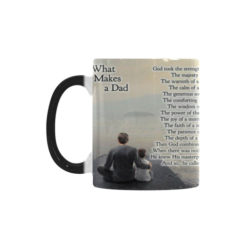 """What Make a DAD"" Quote Mug"