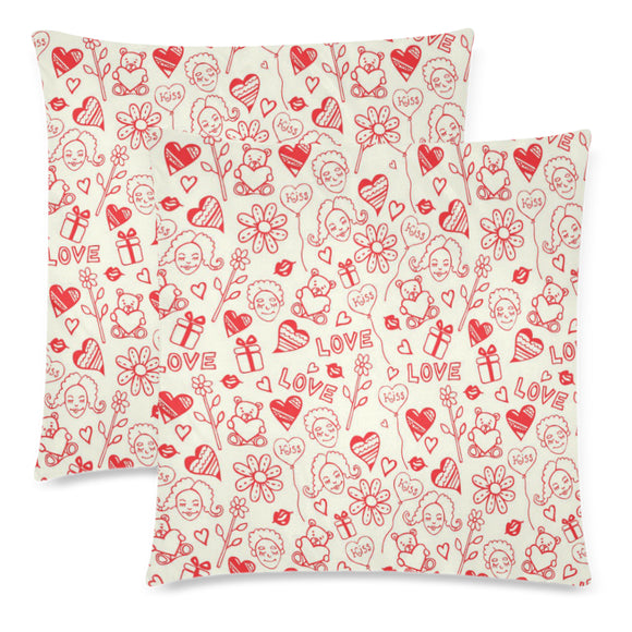 Love Throw Pillow Cover 18