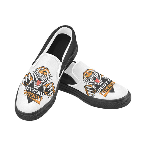 Wests Tigers Slip-on Canvas Men's Shoes (Model019)