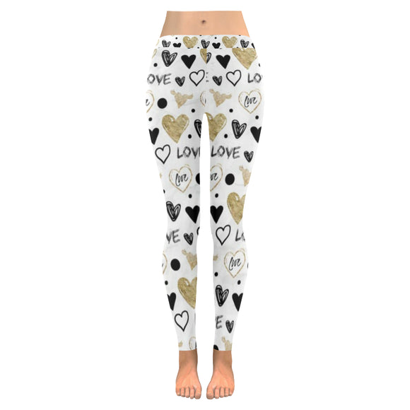 Love All-Over Low Rise Leggings (Model L05)