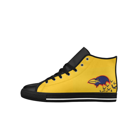 Adelaide Crows Aquila High Top Action Leather Women's Shoes (Model027)