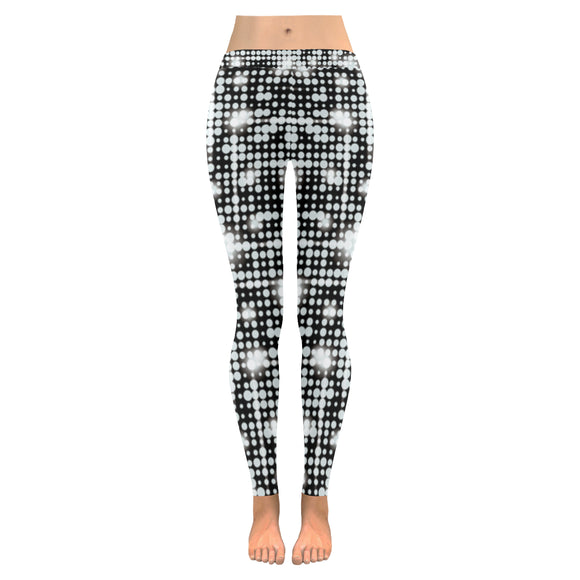 Shine All-Over Low Rise Leggings (Model L05)