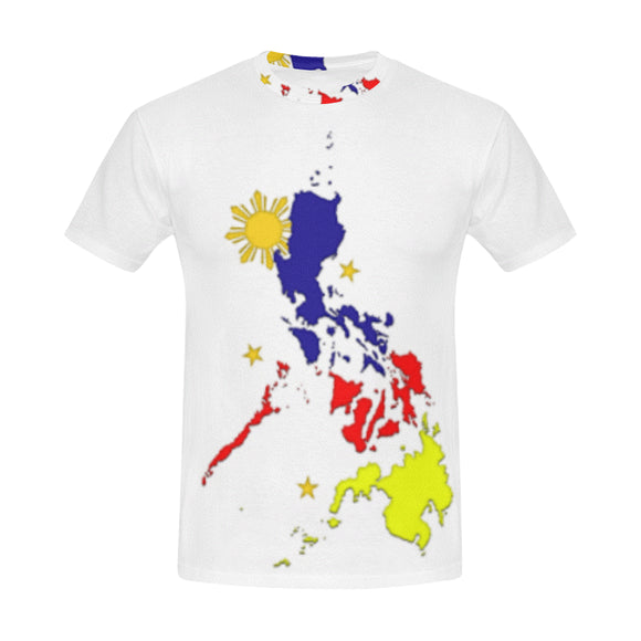 Philippines mag flag Men's All Over Print T-shirt (USA Size) (Model T40)