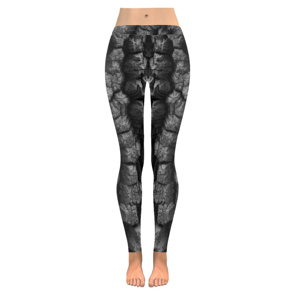Texture All-Over Low Rise Leggings (Model L05)