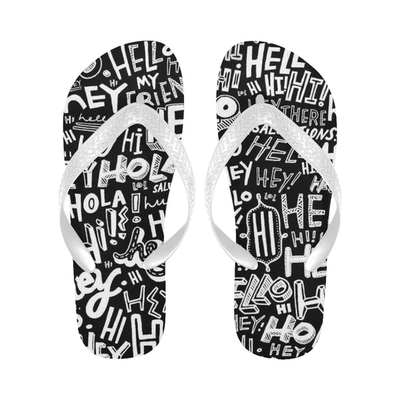 Texture Flip Flops (For both Men and Women) (Model040)