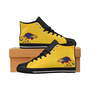 Australian Football High Top Action Leather Women's Shoes (Model027)