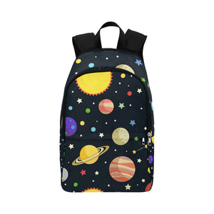 BrettV Nature Space Universe Planet Star Adult Casual Backpack (Model 1659)