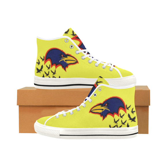 Australian Football Vancouver High Top Canvas Women's Shoes (Model1013-1)