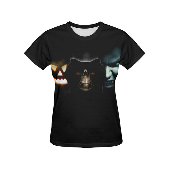 hallowen 1 Women's All Over Print T-shirt (USA Size) (Model T40)