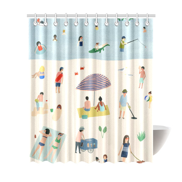 Home-Vintage Shower Curtain 72