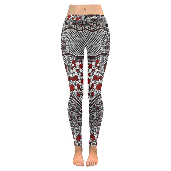 Ajrak All-Over Low Rise Leggings (Model L05)