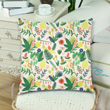 "Tropical Throw Pillow Cover 18""x 18"" (Twin Sides) (Set of 2)"