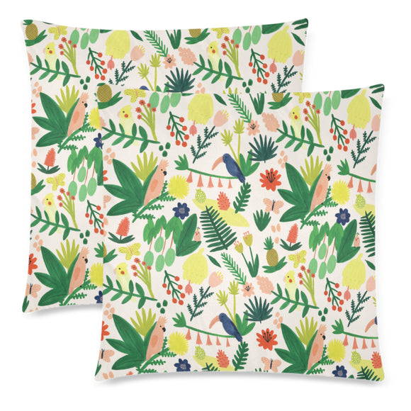 Tropical Throw Pillow Cover 18