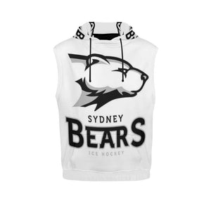 Sydney Hockey Bears Men's All Over Print Sleeveless Hoodie (Model H15)